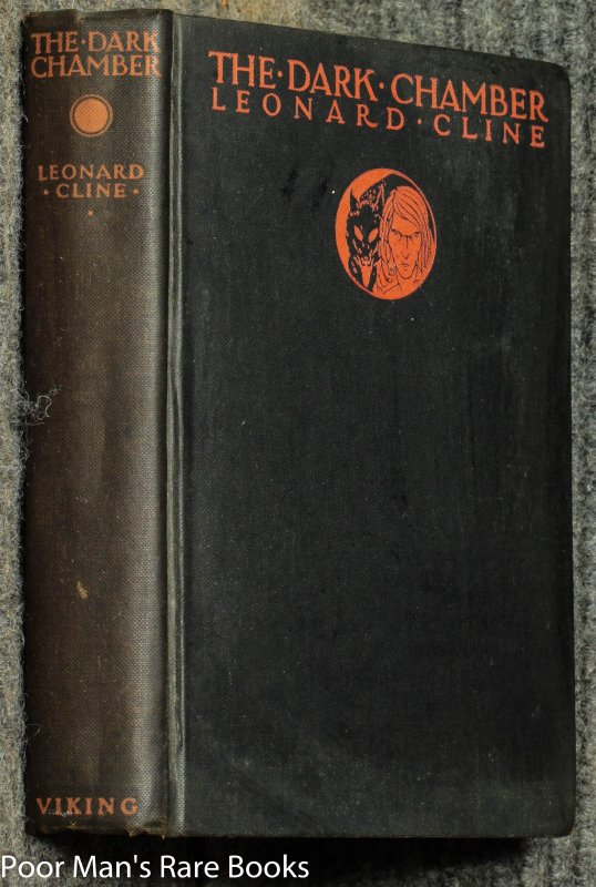 Image for The Dark Chamber [1927 Inscribed 1st American Horror Novel Supernatural Lovecraft Altered States]