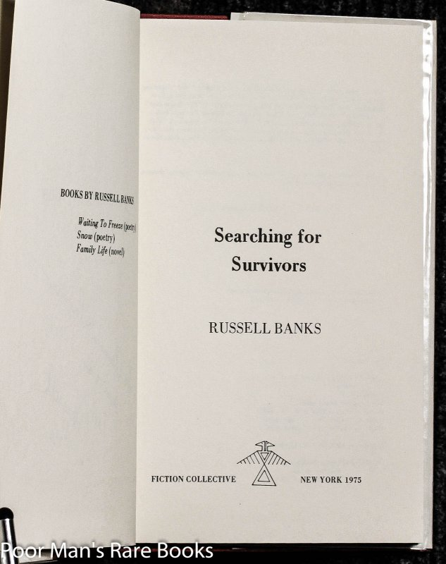 Image for Searching For Survivors [signed]
