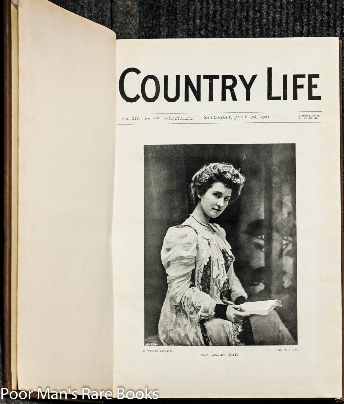 Image for Country Life. Magazine. Vol 14, XIV 4th July To Nov 7th 1903 [fashion, Gardening, Leisure, Architecture]