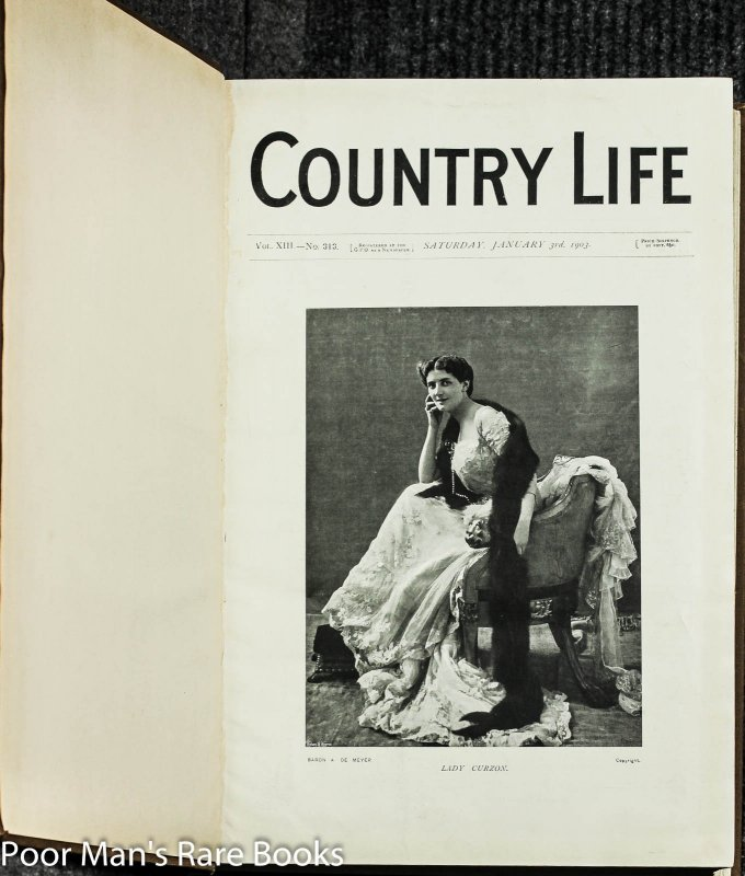 Image for Country Life. Magazine. Vol 13, XIV Jan 3 To June 20th 1903 [fashion, Gardening, Leisure, Architecture]