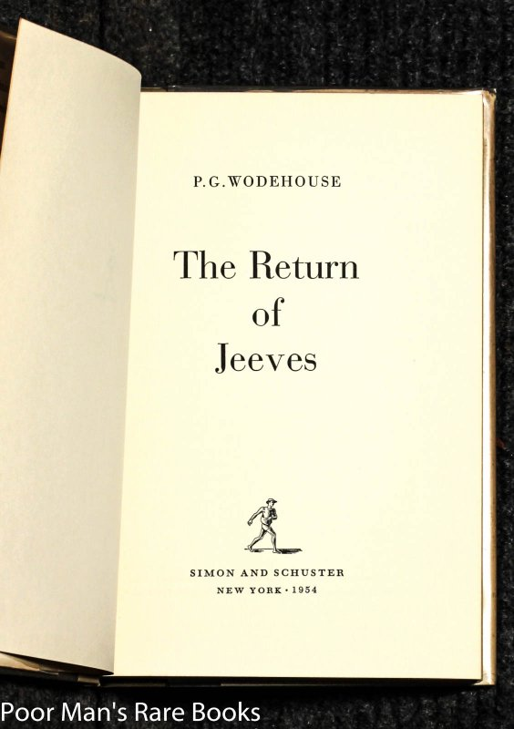 Image for Return Of Jeeves
