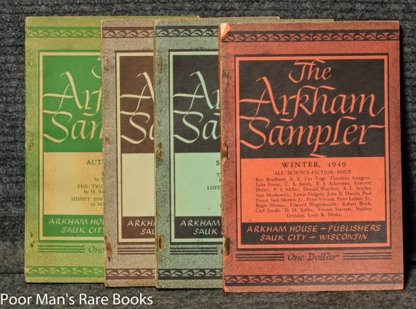 Image for (science Fiction & Horror) 8 Vols. (wrappers). The Arkham House Sampler.