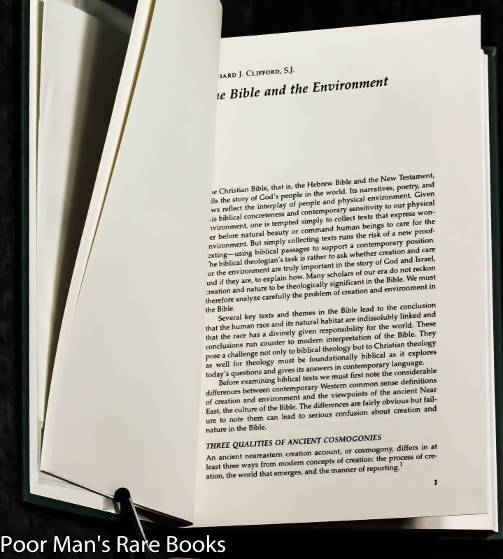 Image for Preserving The Creation: Environmental Theology And Ethics. [signed,dedicated + Letter]