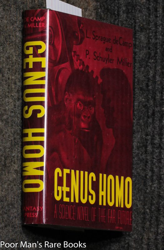 Image for Genus Homo [15/500 Signed] Science Fiction