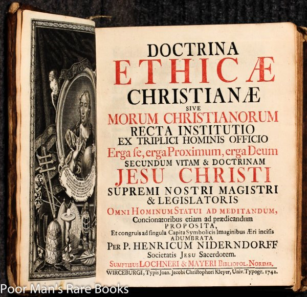 Image for Doctrina Ethicae Christianae Sive Morum Christianorum Recta Instititio [emblem Book]
