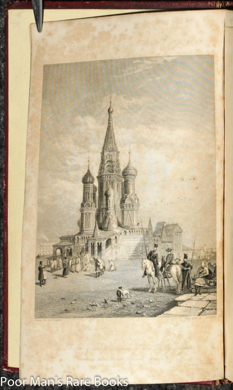 Image for Heath's Picturesque Annual For 1836 St Petersburg And Moscow Fore-edge Painting Of Red Square Moscow