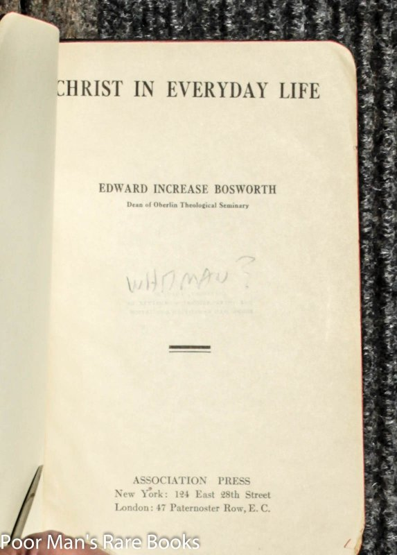 Image for Christ In Everyday Life
