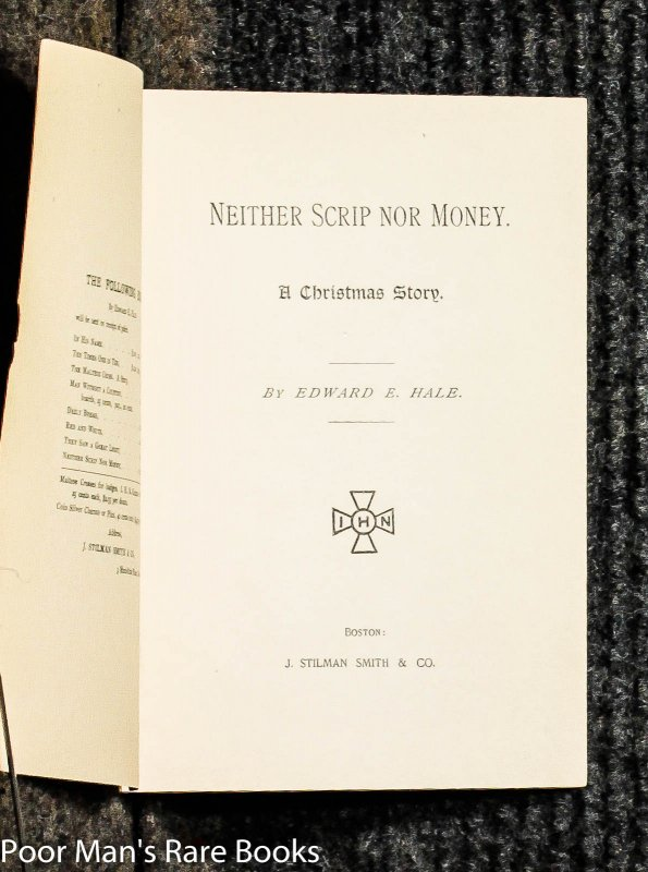 Image for Neither Scrip Nor Money - A Christmas Story-