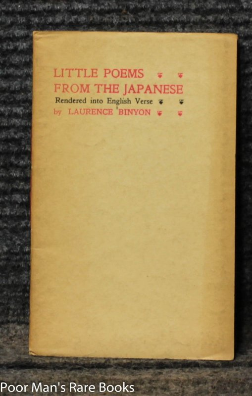 Image for Little Poems From The Japanese