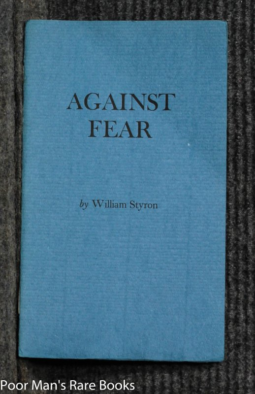Image for Against Fear (signed Limited Edition)