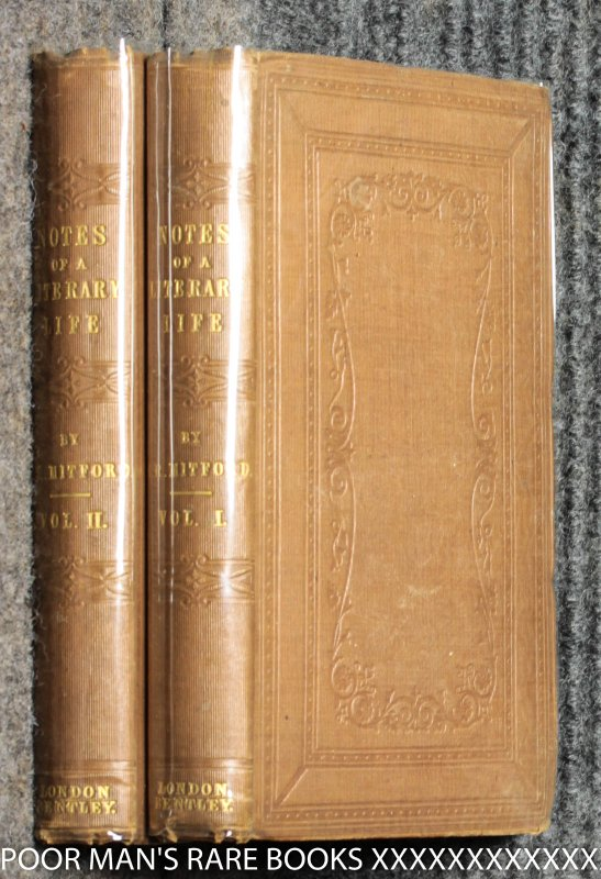 Image for Recollections Of A Literary Life Or Books Places And People [ 2 Vols, Signed Presentation Tipped In] Ct