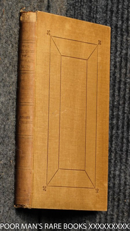 Image for The Religion Of A Literary Man (religio Scriptoris) Limited Signed By Publisher And Inscribed