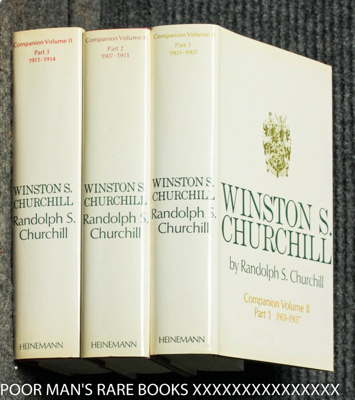 Image for Winston S. Churchill: Companion Volume II Part 1 1901-1907: Part 2 1907-1911: Part 3 1911-1914