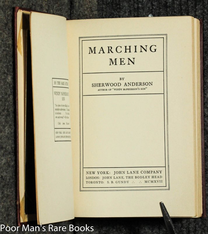Image for Marching Men [signed W/ Photo]