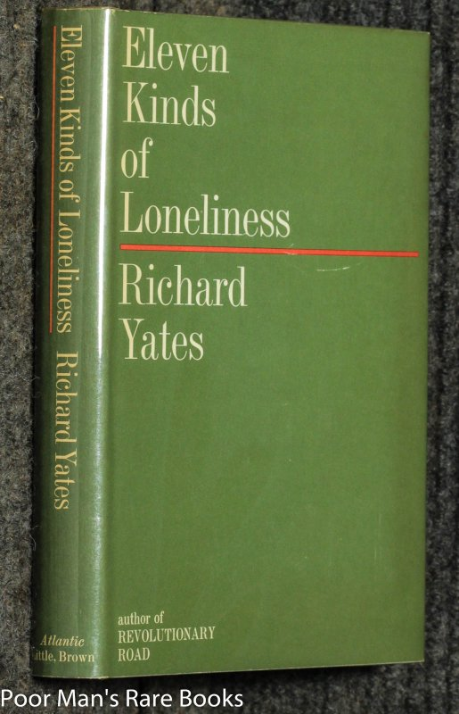 Image for Eleven Kinds Of Loneliness Short Stories