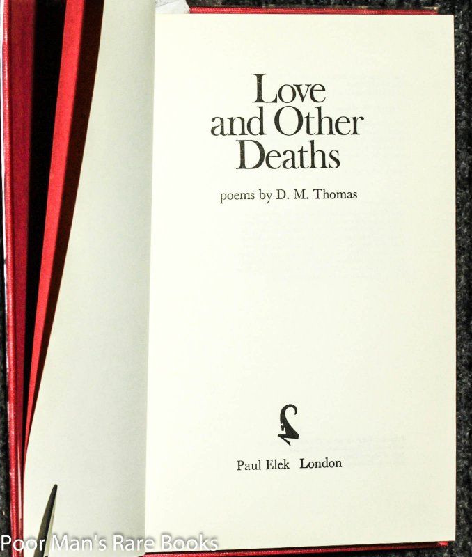 Image for Love And Other Deaths [ Signed Limited]