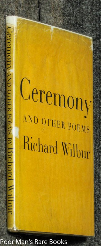 Image for Ceremony And Other Poems [signed]