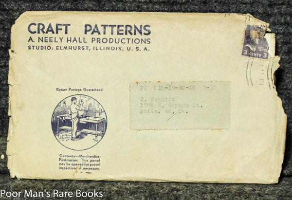 Image for Neely Hall Craft Patterns Nos 215, 219 A. 220 A 221 A In Original Envelope Circa 1950 Weathervanes