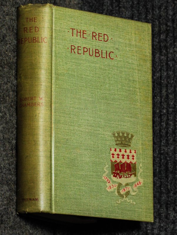 Image for The Red Republic. A Romance Of The Commune.