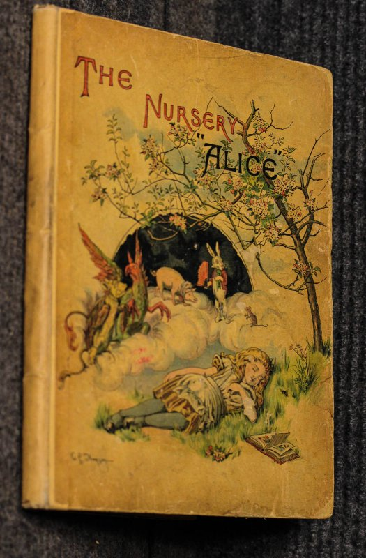 Image for The Nursery Alice [chromolithographed Aice In Wonderland 1890]