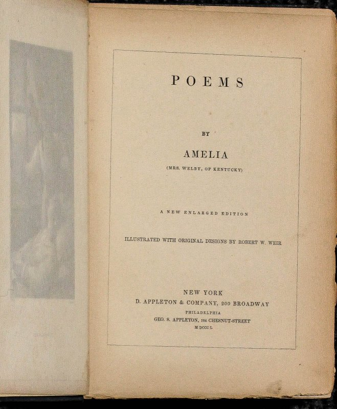 Image for Poems By Amelia