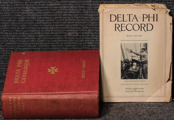 Image for Delta Phi Catalogue, 1827-1907 [with Magazine]