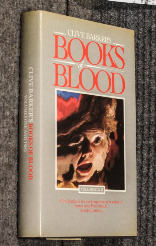 Image for Books Of Blood: Volume I & II [signed, Two Volumes In One