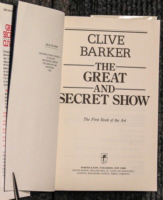 Image for The Great And Secret Show [with Letter And Photo]