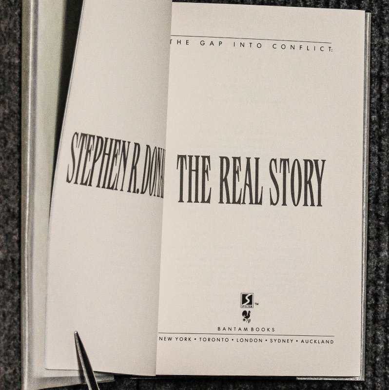 Image for The Gap Into Conflict The Real Story [signed, Dj, Slipcase, Limited]