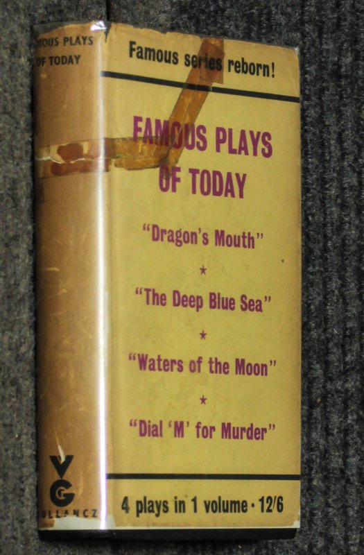 "Image for Famous Plays Of Today [ Dragon's Mount; Deep Blue Sea; Waters Of The Moon; Dial ""M"" For Murder]"