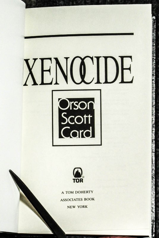 Image for Xenocide ( Morrocco Leather In Matching Case)