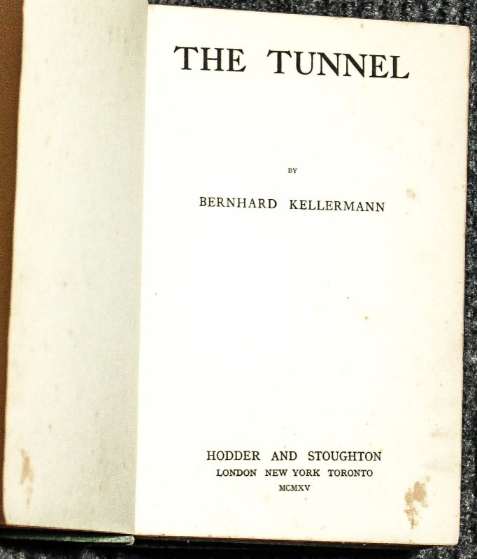 Image for The Tunnel