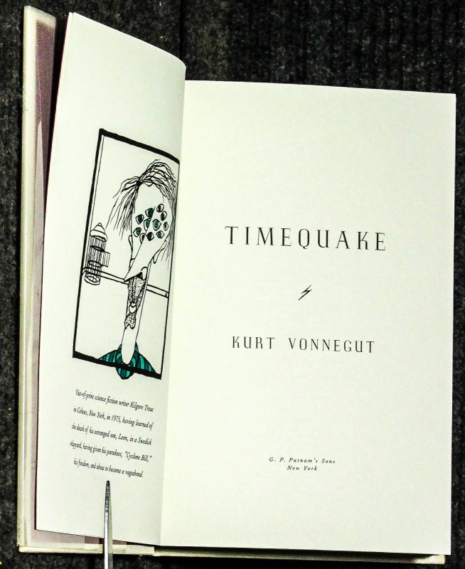 Image for Timequake [ Signed Presentation Issue]