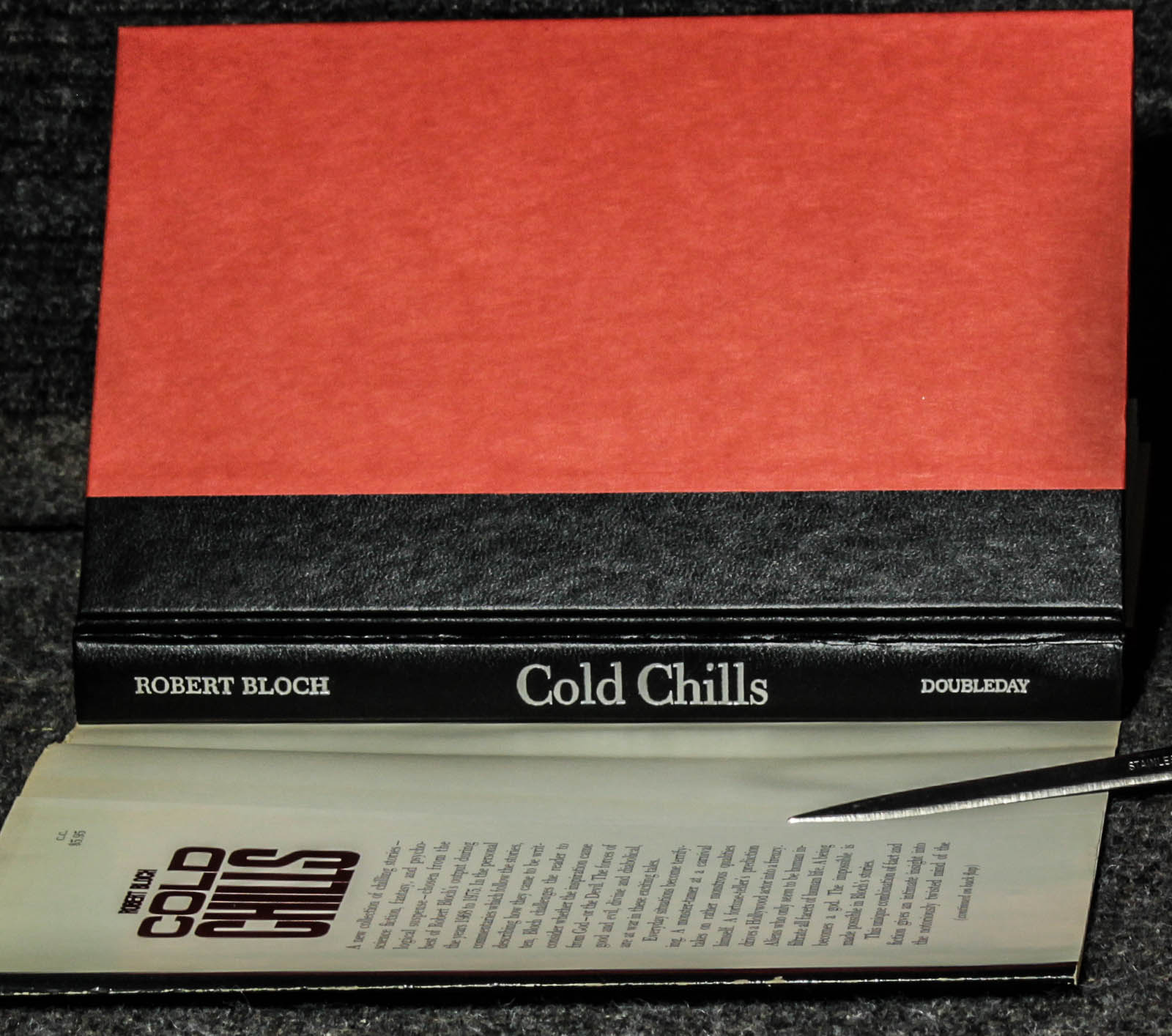 Image for Cold Chills [signed First Edition ]