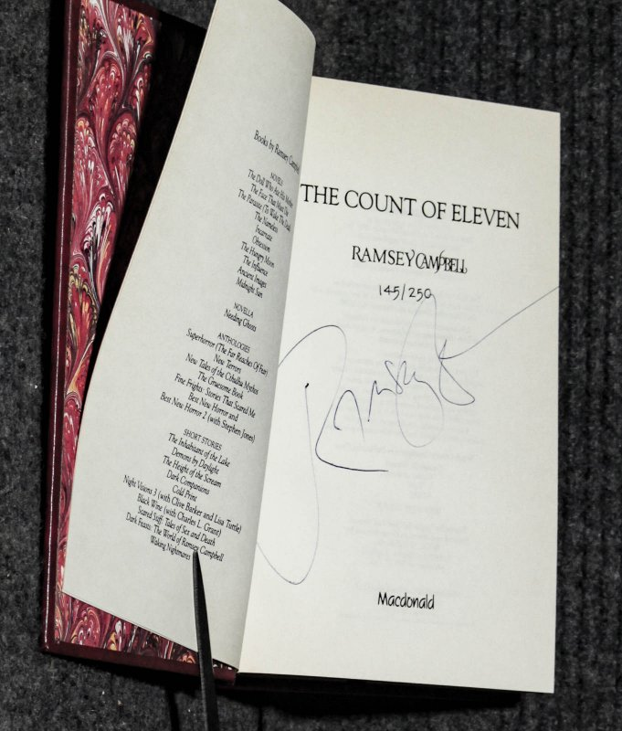 Image for The Count Of Eleven [ Signed Ltd 145/250]