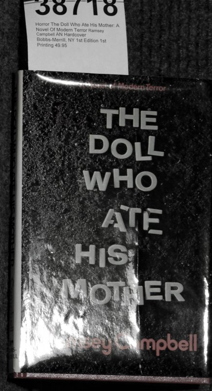 Image for The Doll Who Ate His Mother: A Novel Of Modern Terror