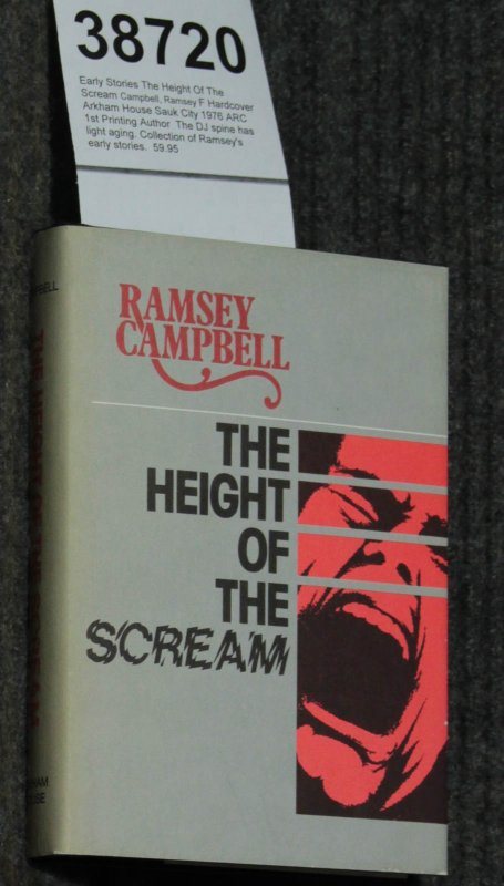 Image for The Height Of The Scream [signed 1st]