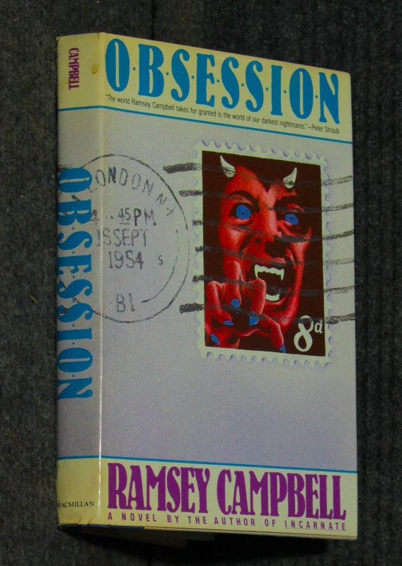 Image for Obsession [arc With Laid In Review Letter]]