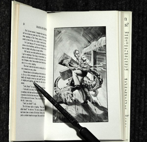 Image for Dragons And Nightmares By Robert Bloch [ Ltd Signed], Four Short Novels