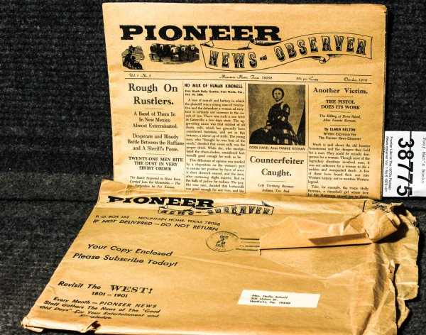 Image for Pioneer News-observer Vol. 1 No 5 1970