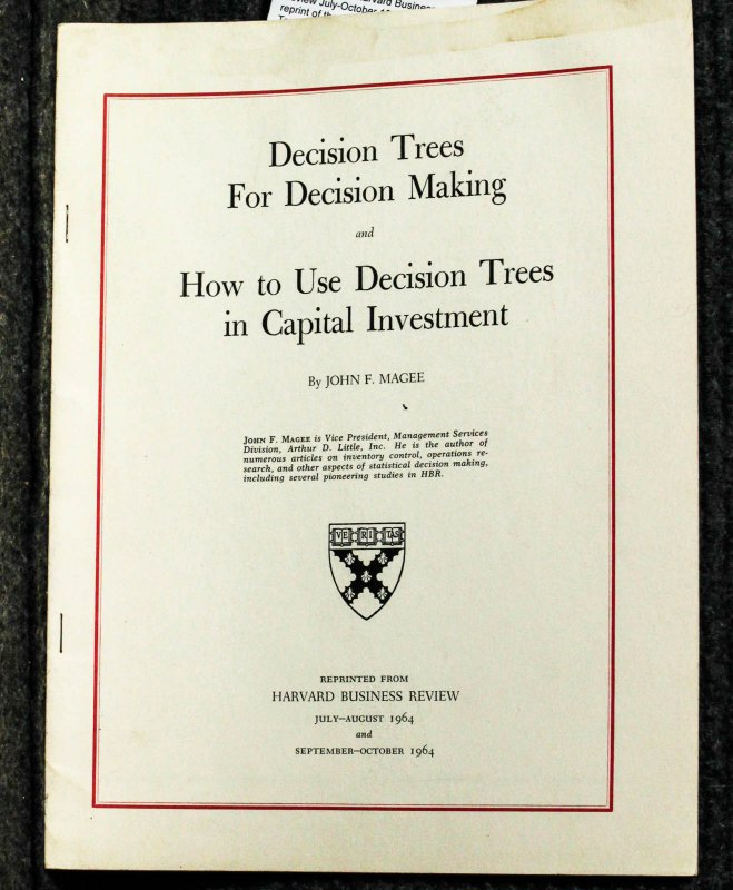 Image for Decision Trees And Decision Making And How To Use Decision Trees For Capital Investment