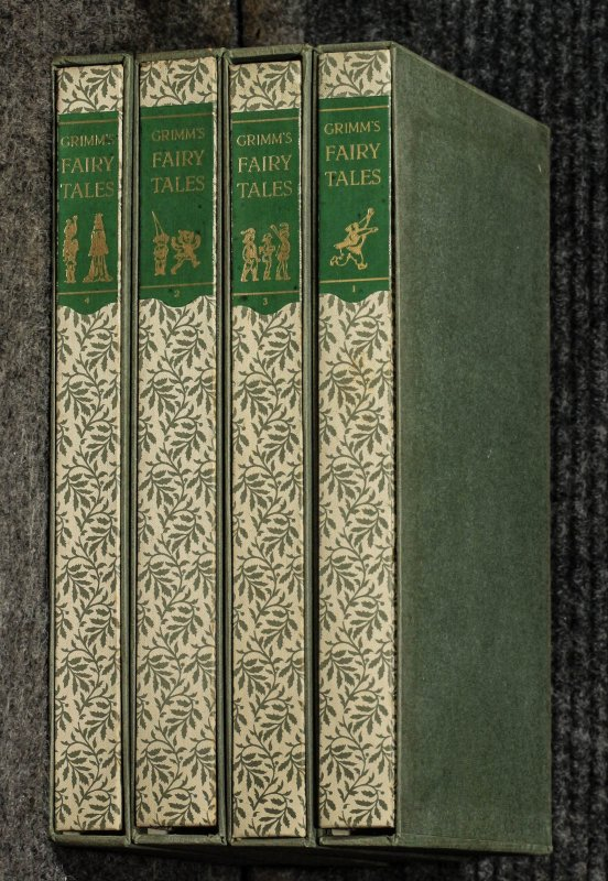 Image for Grimm's Fairy Tales [4 Vol Ct In Slipcases #33/1500 W/ Letter]