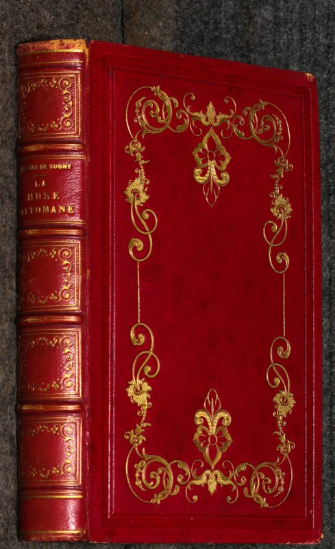 Image for La Muse Ottomane Ou Chefs-d'ouevre La Poesie Turque { Turkish Poetry, Fine Binding[
