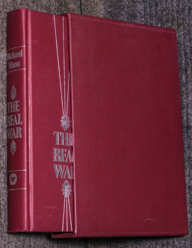 Image for The Real War [flat Signed By Richard Nixon President] Slipcase