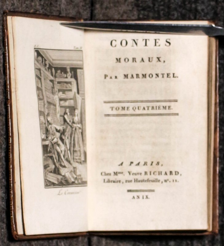 Image for Contes Moraux [ct In 5 Vols] 1801