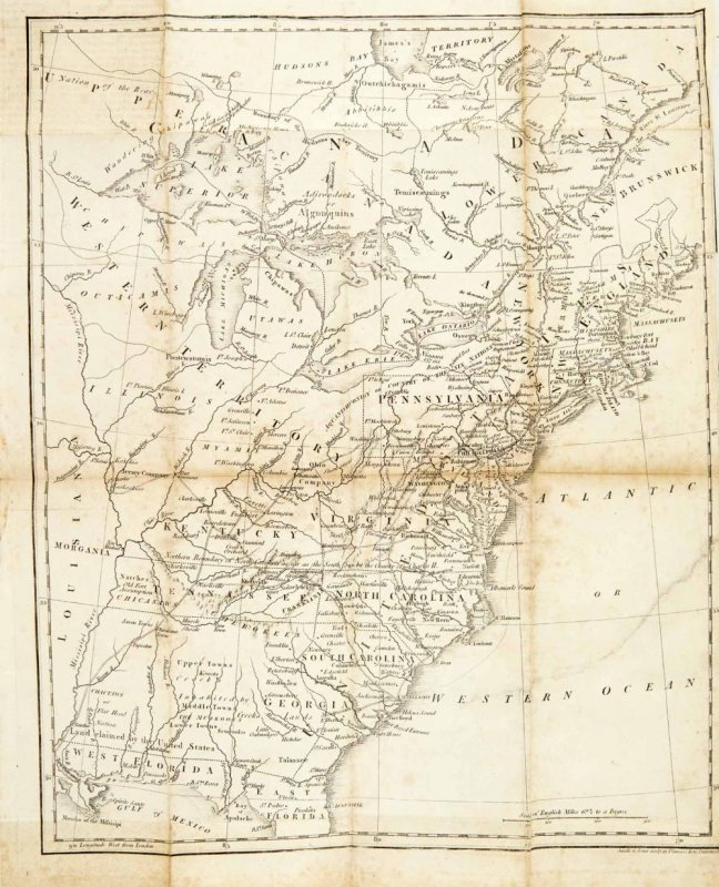 Image for Travels To The Westward Of The Allegany Mountains In The States Of The Ohio, Kentucky And Tennessee In The Year 1802... 1805