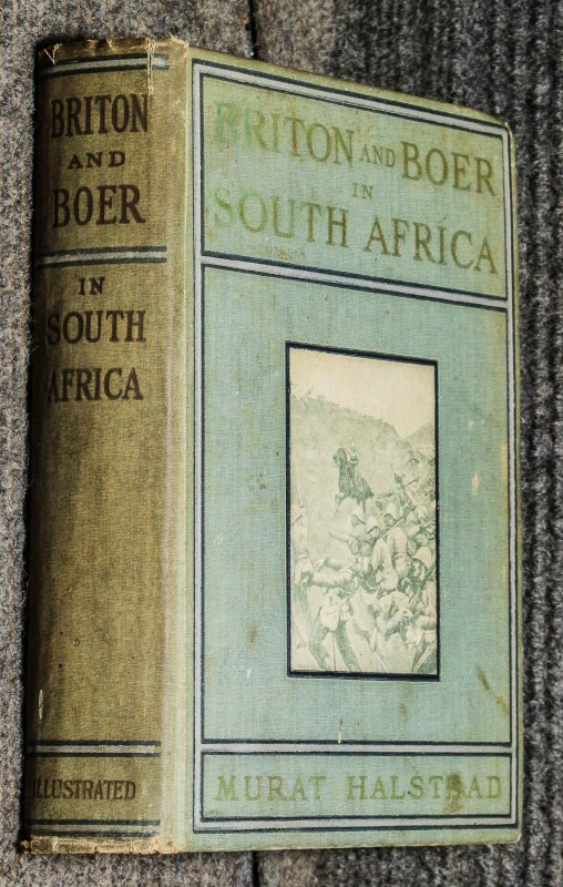 Image for Briton And Boer In South Africa: The Story Of England's War With The Brave Boers...