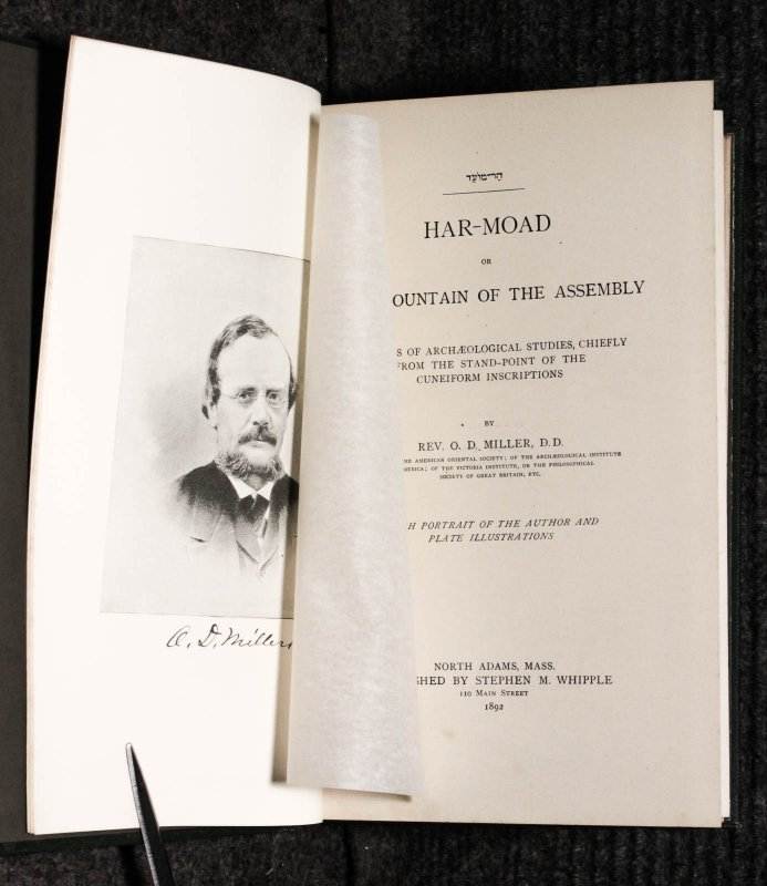 Image for Har-moad Or The Mountain Of The Assembly Archaeology 1892 Cuneiform