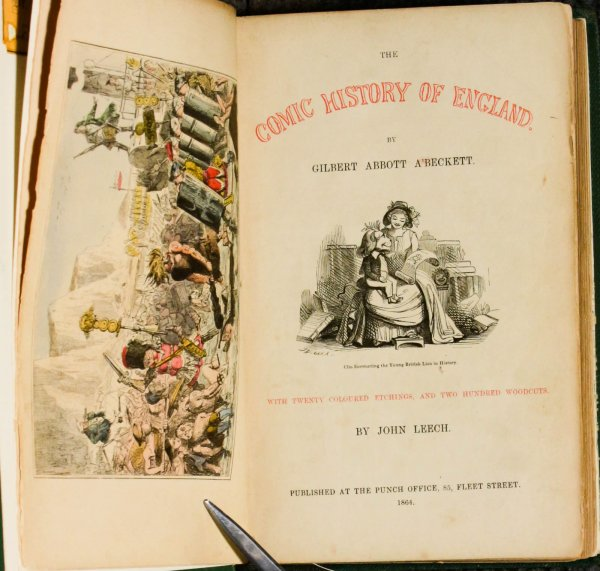 Image for The Comic History Of England. 2 Vols In 1 1864 Humor