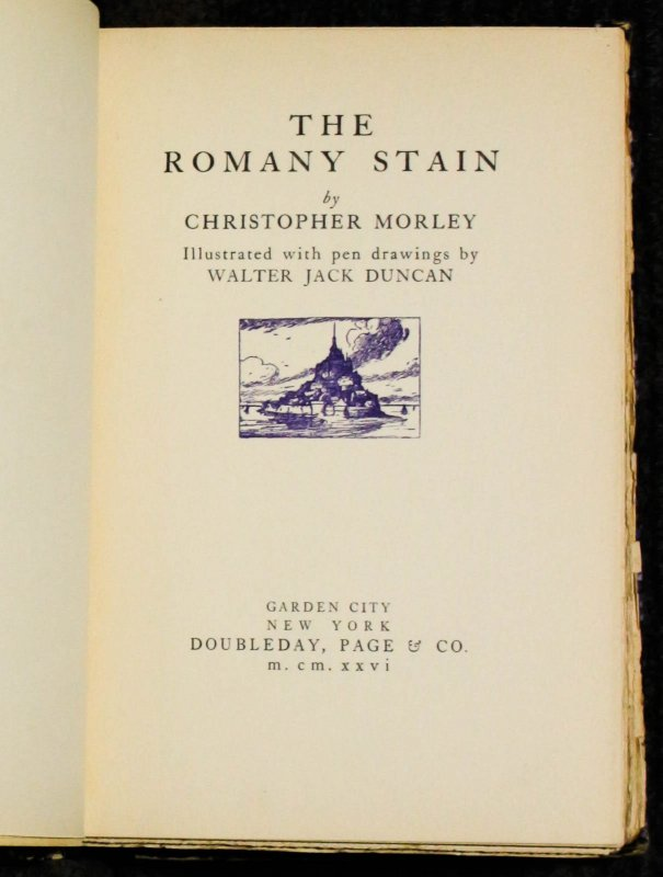 Image for The Romany Stain [signed Lmtd]